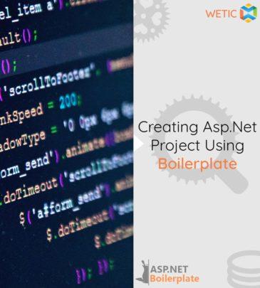 Creating Asp.Net Project Using Boilerplate